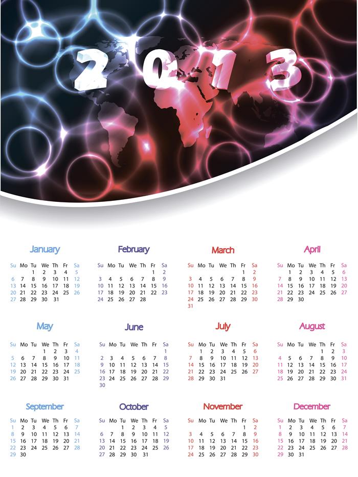 Calendar 2013 34