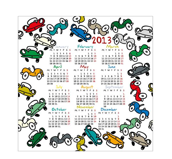 Calendar 2013 5