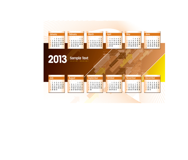 Calendar 2013 8