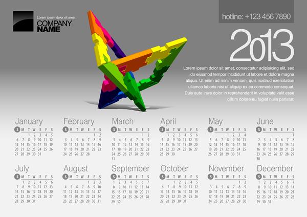 Calendar 2013 9