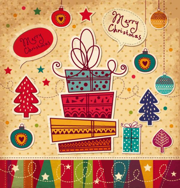 Cartoon Christmas Card 3