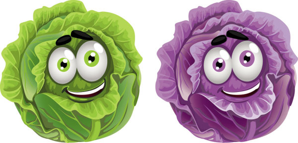 Cartoon Vegetables 3