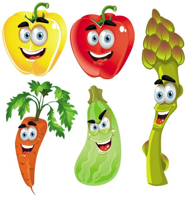 Cartoon Vegetables 4