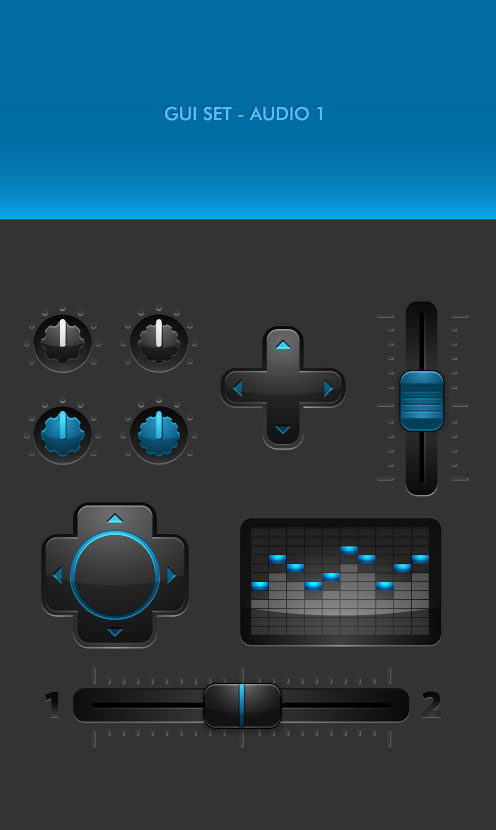 GUI SET - Audio