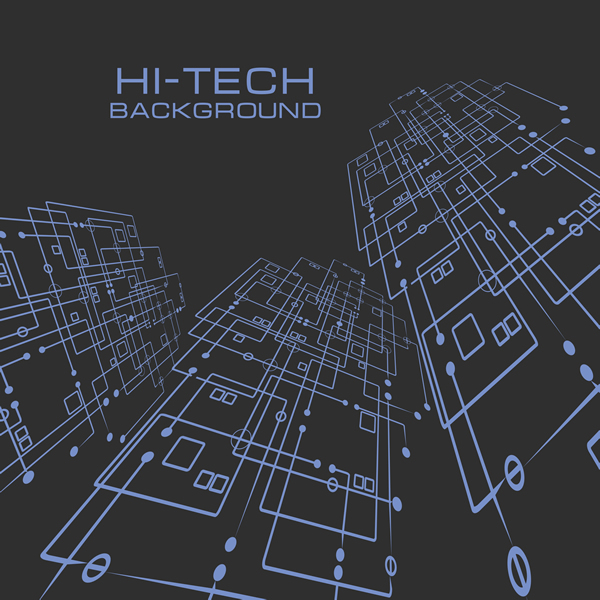 Hi-Tech Background 12