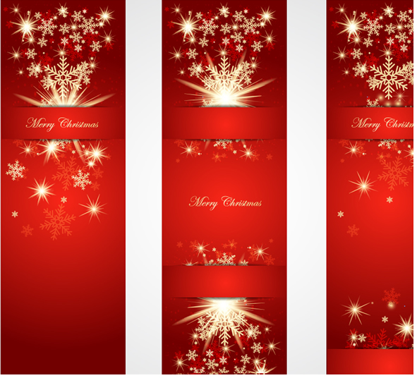 Merry Christmas Trees and New Year Banners 3