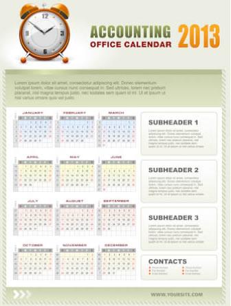 New Year 2013 Calendars 2