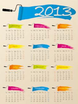 New Year 2013 Calendars 3