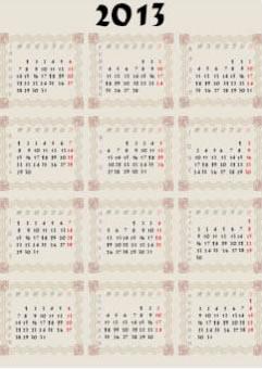 New Year 2013 Calendars 4