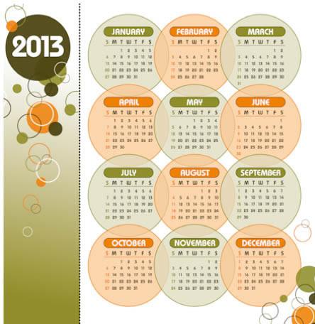 New Year 2013 Calendars
