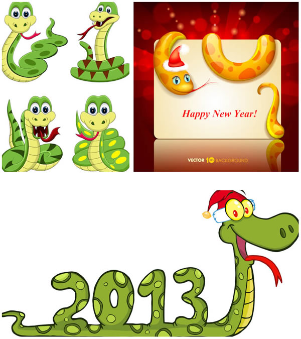 Snake 2013 cartoon design