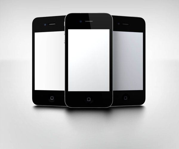 iPhone 5 PSD View 2