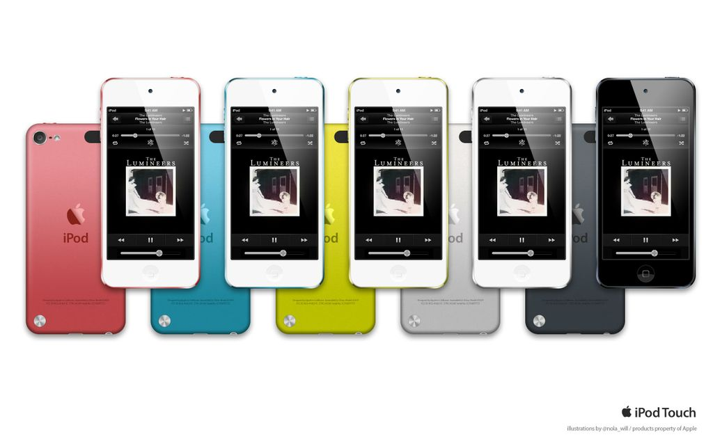 iPod Touch Template