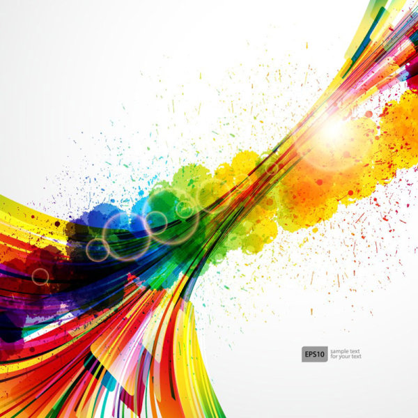 Abstract Colorful Background 4
