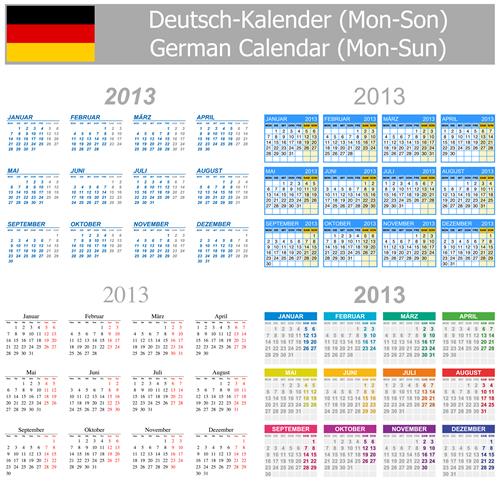 Calendar Grid 2013 105