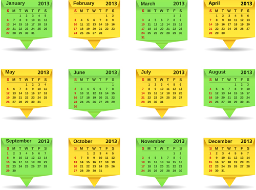 Calendar Grid 2013 112