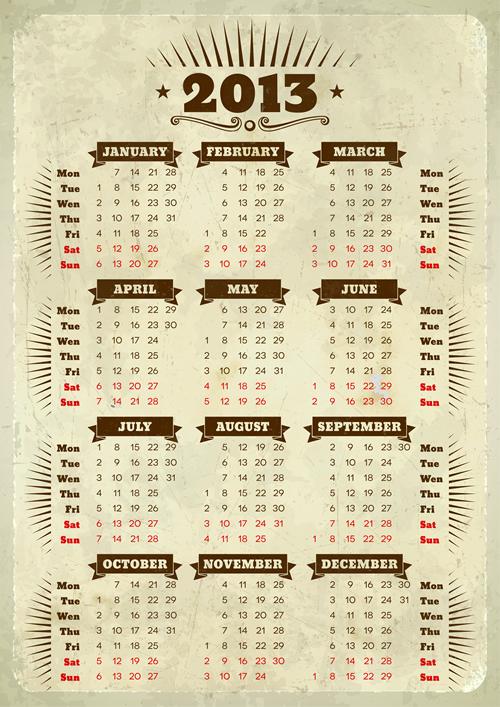 Calendar Grid 2013 117