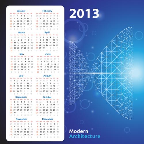 Calendar Grid 2013 118