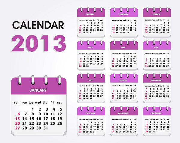 Calendar Grid 2013 121