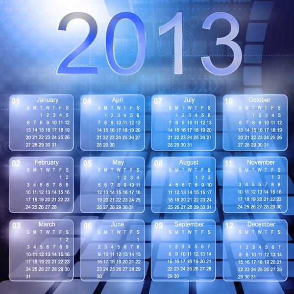 Calendar Grid 2013 19