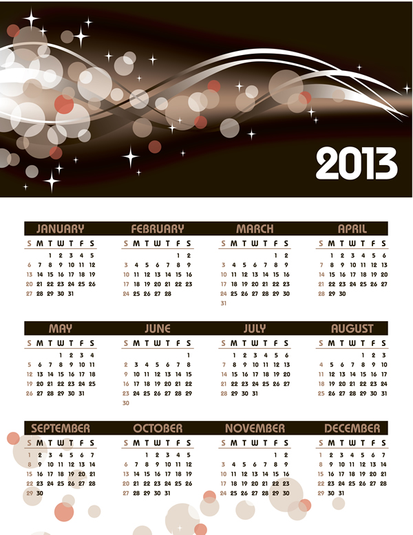 Calendar Grid 2013 21
