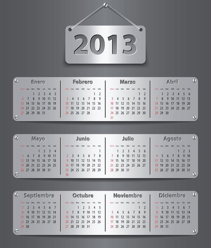 Calendar Grid 2013 22