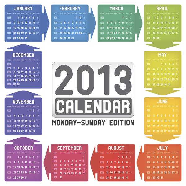 Calendar Grid 2013 23