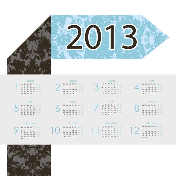 Calendar Grid 2013 24