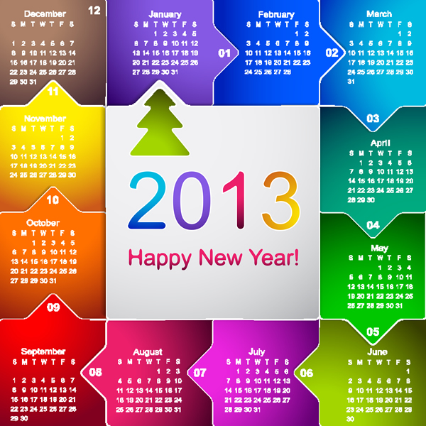 Calendar Grid 2013 26