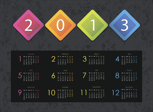 Calendar Grid 2013 27