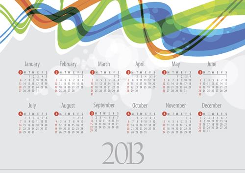 Calendar Grid 2013 28