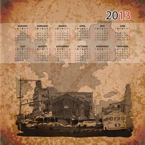 Calendar Grid 2013 31