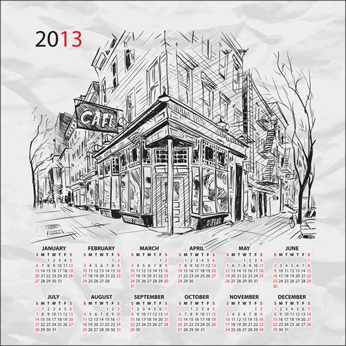 Calendar Grid 2013 32