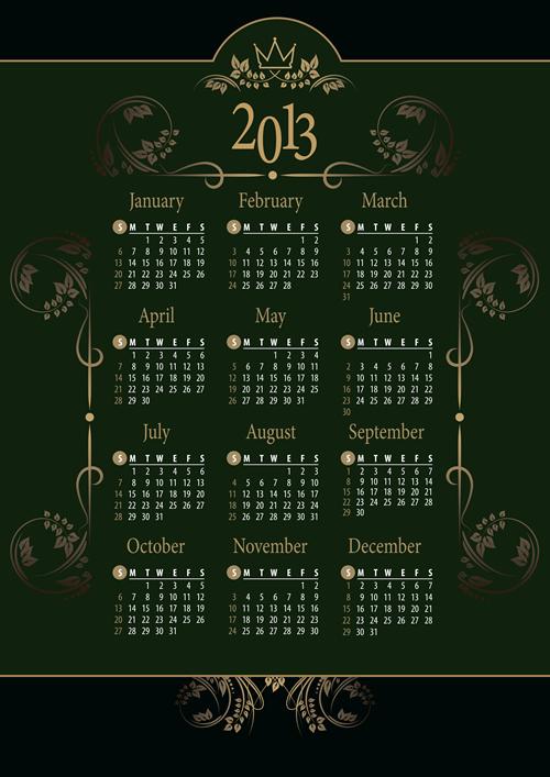 Calendar Grid 2013 33