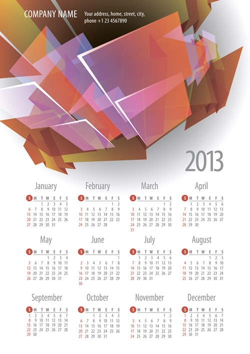 Calendar Grid 2013 35