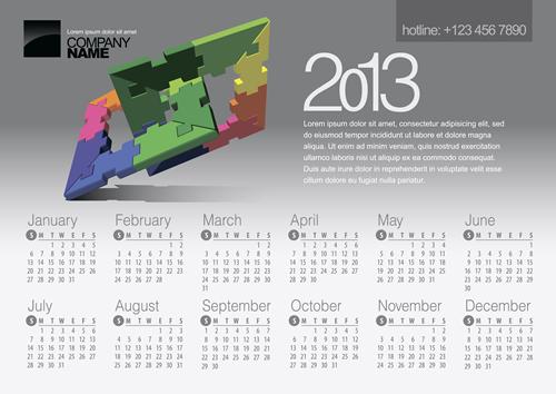 Calendar Grid 2013 36