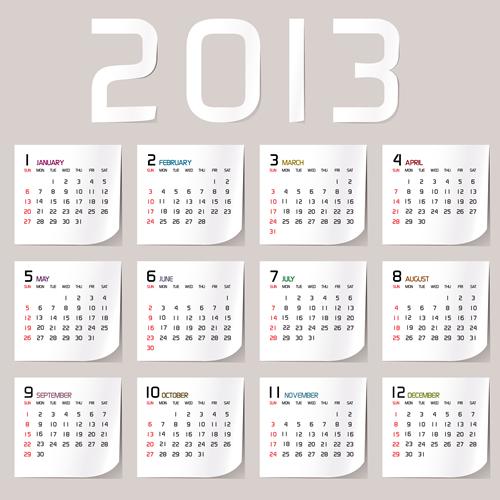 Calendar Grid 2013 39