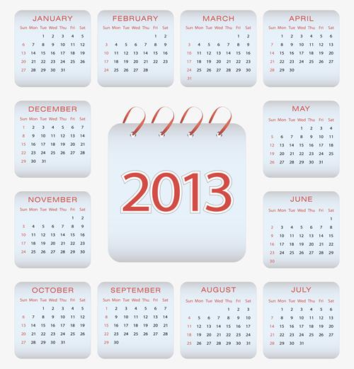 Calendar Grid 2013 44