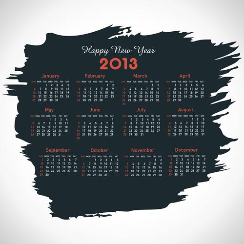 Calendar Grid 2013 48