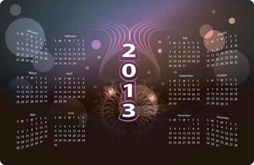 Calendar Grid 2013 49