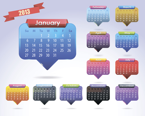 Calendar Grid 2013 51