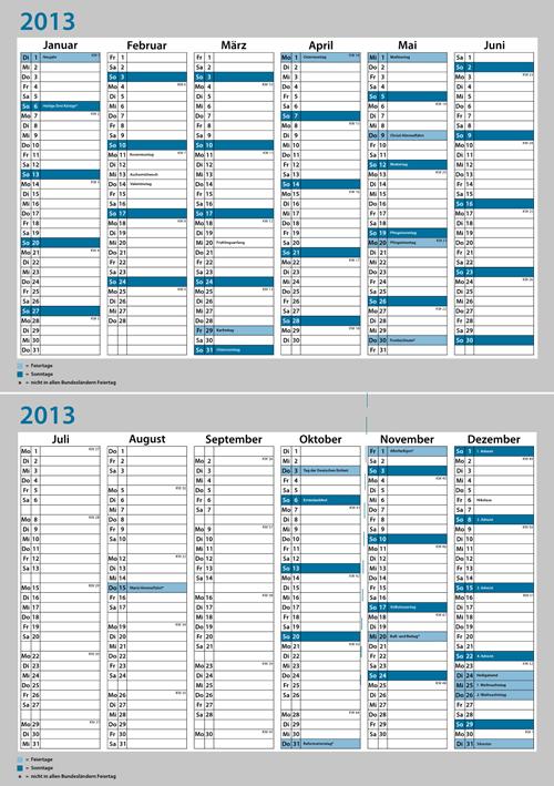 Calendar Grid 2013 54
