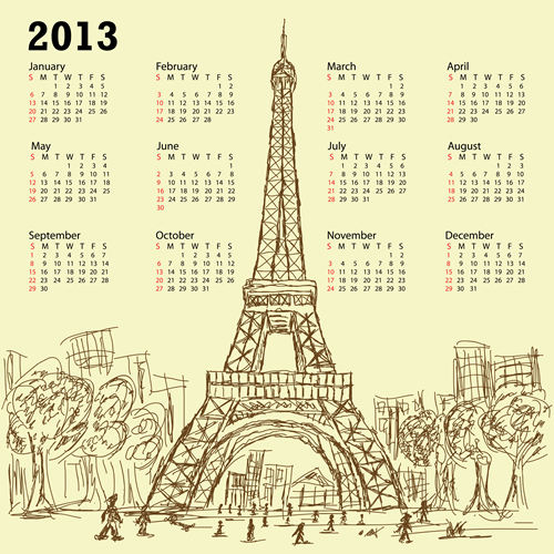 Calendar Grid 2013 58