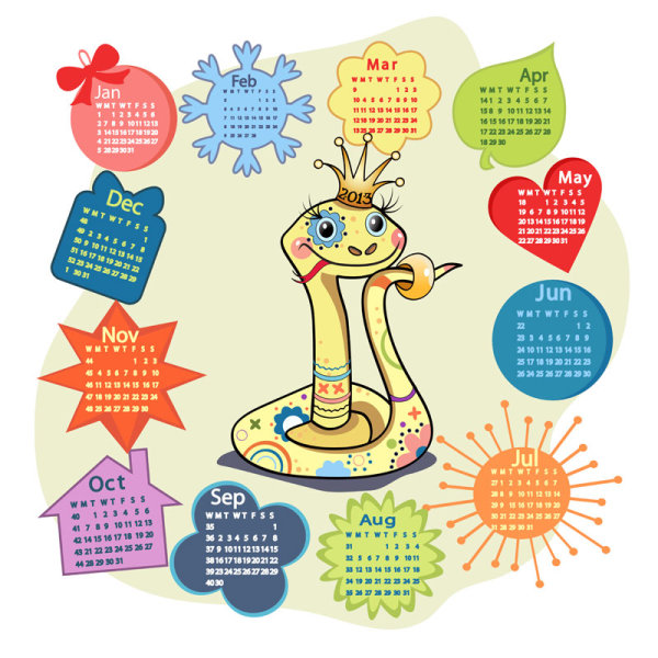 Calendar Grid 2013 62