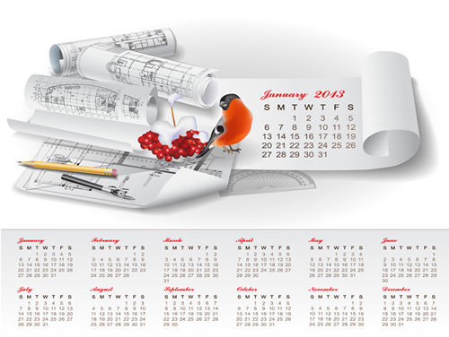 Calendar Grid 2013 70