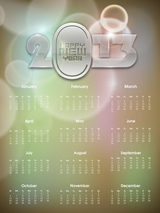 Calendar Grid 2013 74