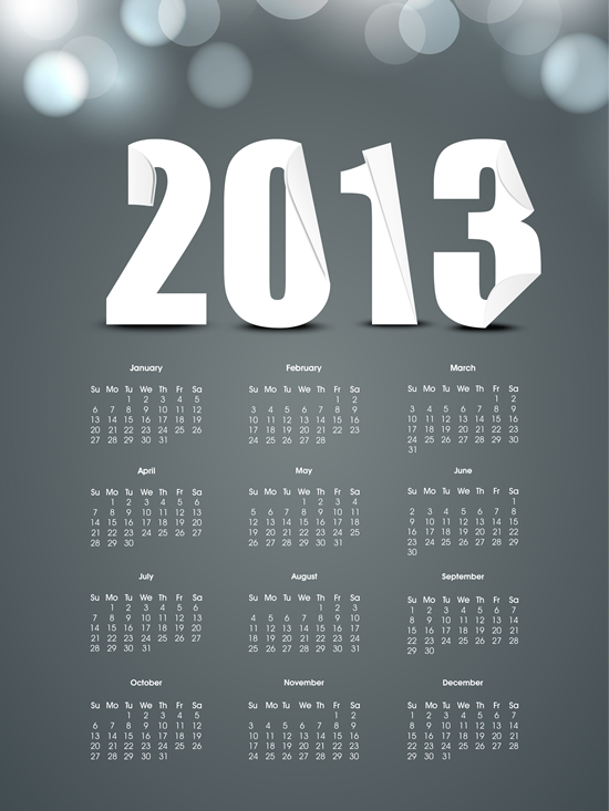 Calendar Grid 2013 75