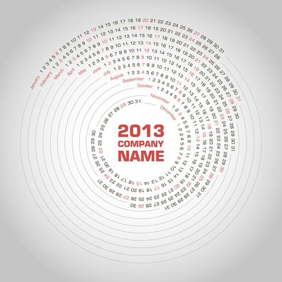 Calendar Grid 2013 77