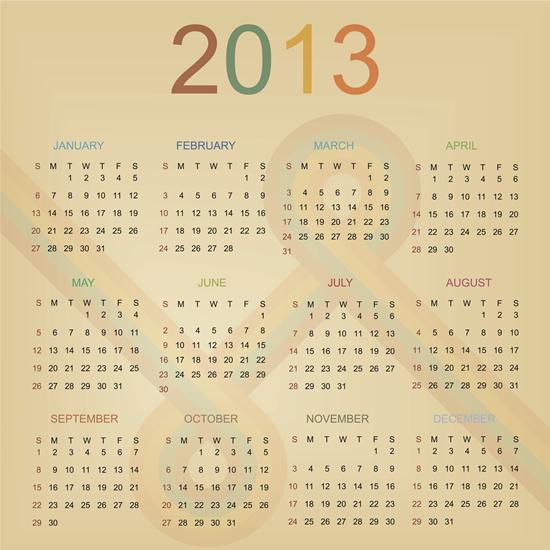 Calendar Grid 2013 78