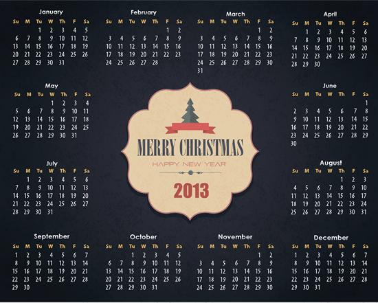 Calendar Grid 2013 82